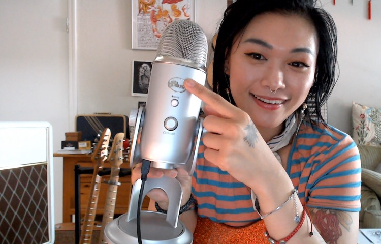 How to record instruments using Blue Yeti Mic