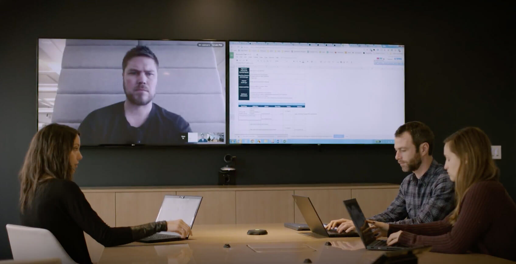 Quantcast uses Logitech solutions to make video conference