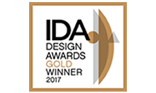 IDA Design Awards Gold Winner 2017