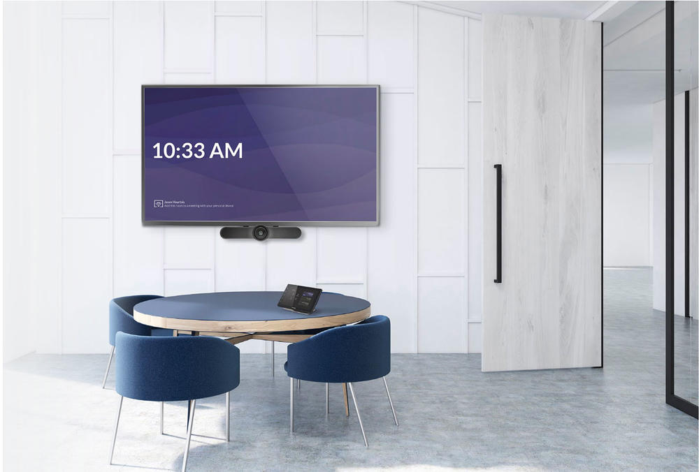 logitech + crestron in small conference room solution