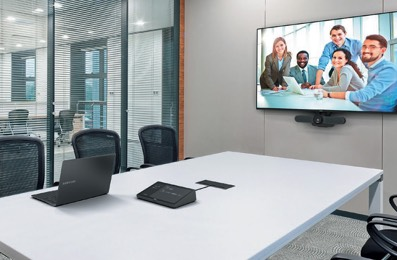 Huddle Room with Logitech Tap