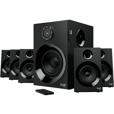 Logitech Z607 5 1 Surround Sound Speakers With Bluetooth